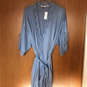 La Vie en Rose Blue Robe